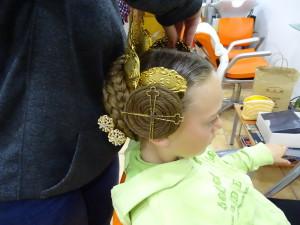 Fallera Haarschmuck