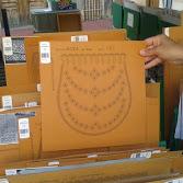 Kloeppelbrief  Handarbeit tradition