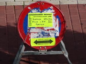 Parkverbot Spanien falsch parken