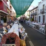 spanisches Dorf Fiesta