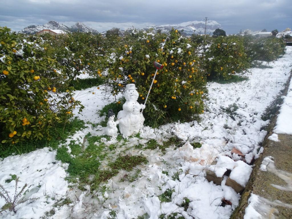 Schnee Costa Blanca